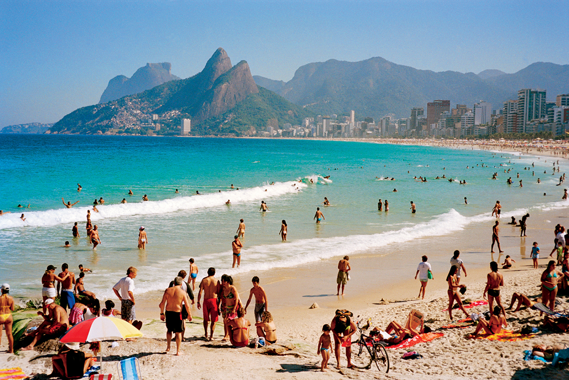 Brazil Boom Boom On The Beach Iconic Photography by Michel Haddi 2